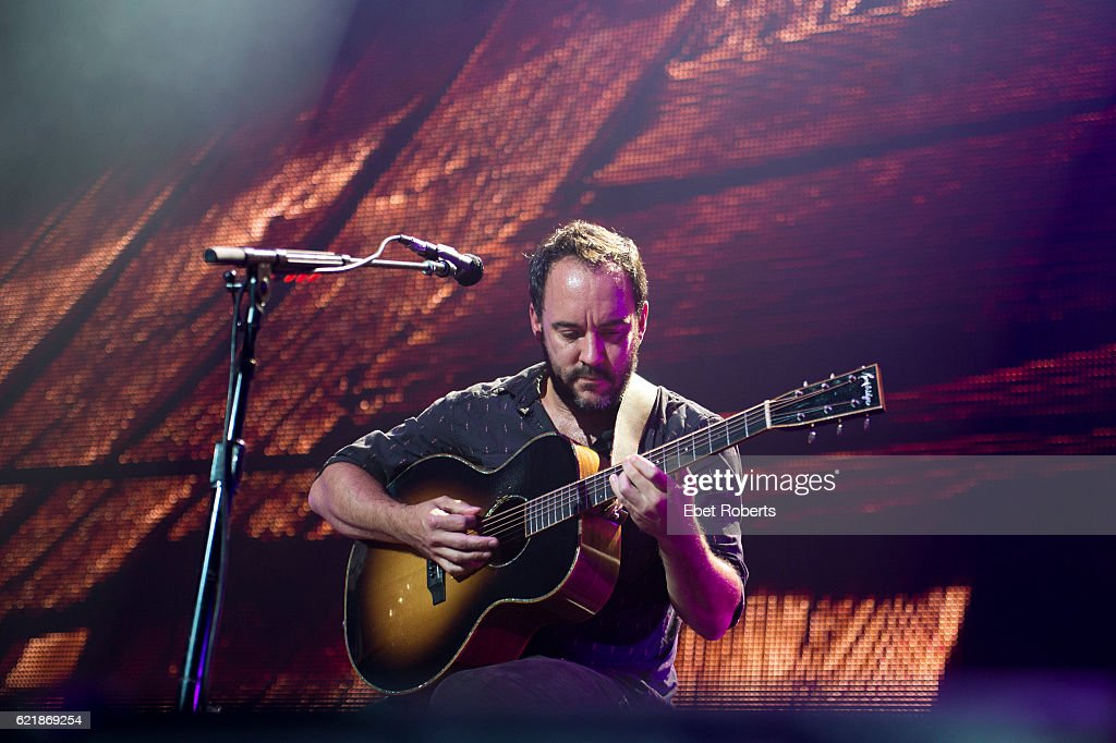 Dave Matthews performs at Farm Aid at Jiffy Lube Live in Bristow, Virginia on September 17, 2016.