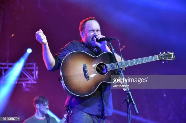 Dave Matthews performs at the 2018 The Night Before Concert With Dave Matthews Band at the Xcel Energy Center on February 3, 2018 in St. Paul,...