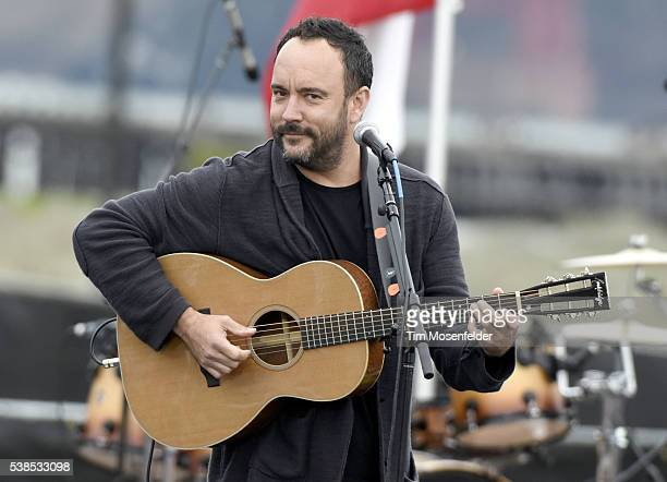 Dave Matthews performs during Bernie Sanders A future to believe in San Francisco GOTV Concert at Crissy Field San Francisco on June 6 2016 in San...