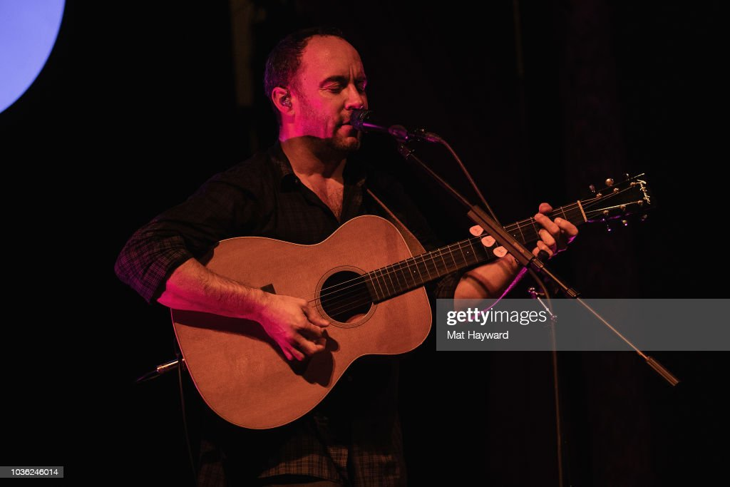 Musician Dave Matthews Performs For His Top Spotify Premium Fans At Seattle's Columbia City Theatre