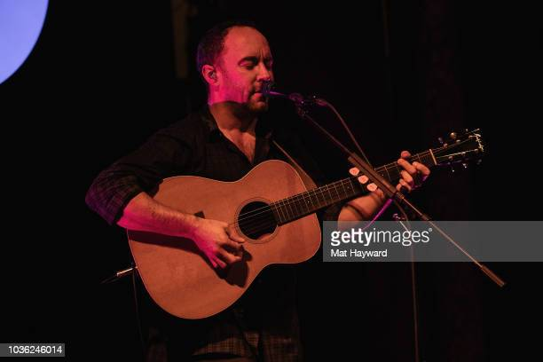 Dave Matthews performs for his biggest Spotify Premium fans at Columbia City Theatre on September 19 2018 in Seattle Washington
