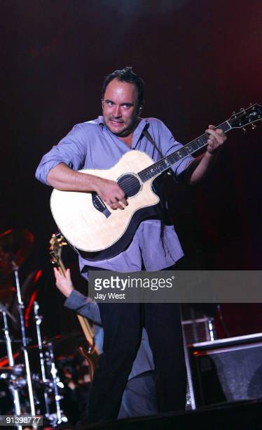 Dave Matthews performs on day 2 of the Austin City Limits Music Festival at Zilker Park on October 3, 2009 in Austin, Texas.