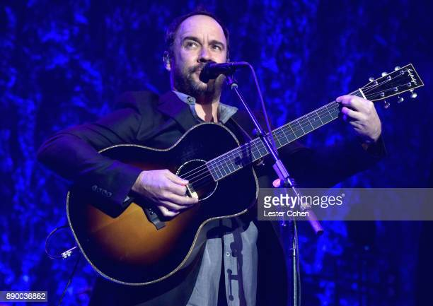 Dave Matthews performs onstage during Stevie's 21st Annual House Full of Toys Benefit Concert at Staples Center on December 10 2017 in Los Angeles...
