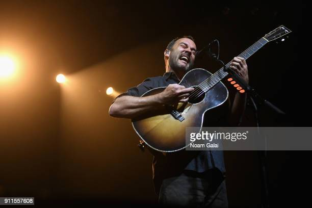 Dave Matthews performs onstage with Tim Reynolds for Citi Sound Vault at Irving Plaza on January 28 2018 in New York City