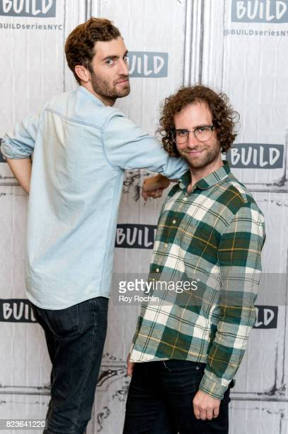 Dave McCary and Kyle Mooney discuss Brigsby Bear with the Build Series at Build Studio on July 27 2017 in New York City