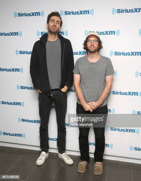Dave McCary and Kyle Mooney visit at SiriusXM Studios on July 25 2017 in New York City