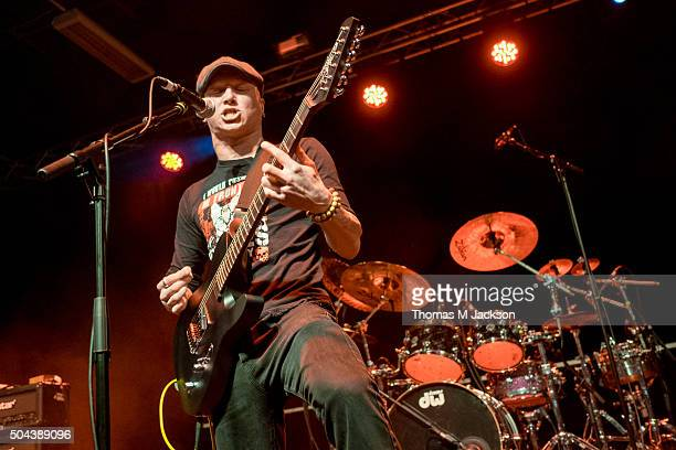 Dave McPherson of InMe performs onstage supporting Alien Ant Farm at University Of Northumbria on January 10 2016 in Newcastle upon Tyne England