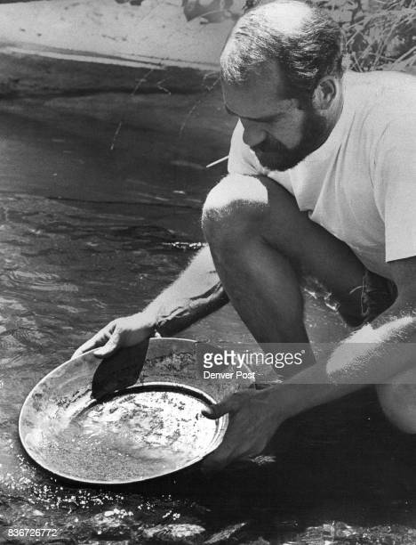 Dave Morgans Shows Proper Way to Pan For Gold The avid prospector opened his store and classroom 18 months ago Credit Denver Post