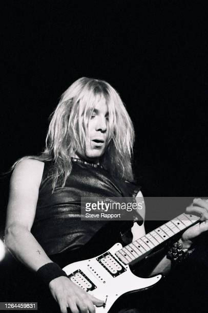 Dave Murray of Iron Maiden Reading Festival 8/29/82
