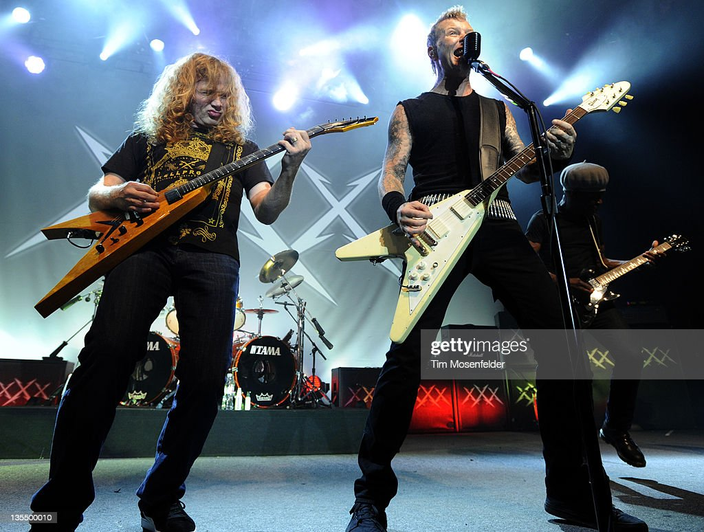 Metallica Performs At The Fillmore - Show 4 : News Photo