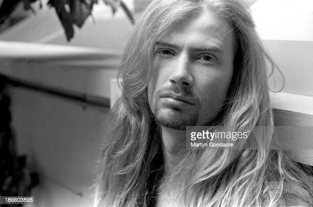 Dave Mustaine of Megadeth portrait London United Kingdom 1992