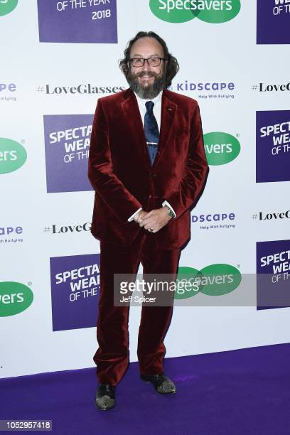 Dave Myers attends the Specsavers 'Spectacle Wearer Of The Year' at 8 Northumberland Avenue on October 24 2018 in London United Kingdom