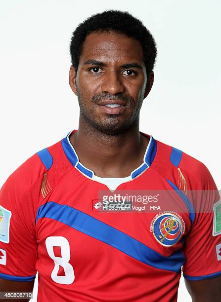 Dave Myrie Medrano of Costa Rica poses during the official FIFA World Cup 2014 portrait session on June 16 2014 in Sao Paulo Brazil