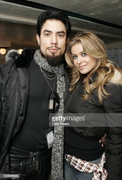 Dave Navarro and Carmen Electra during 2006 Park City The Loft featuring TMobile Klipsch and Hudson Day 4 at 427 Main Street in Park City Utah United...
