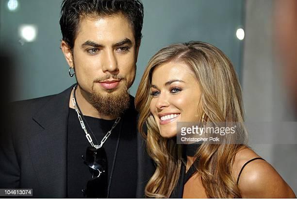 Dave Navarro and Carmen Electra during Camp Freddy Performs Live At Blender Sessions at Ivar in Hollywood, CA, United States.