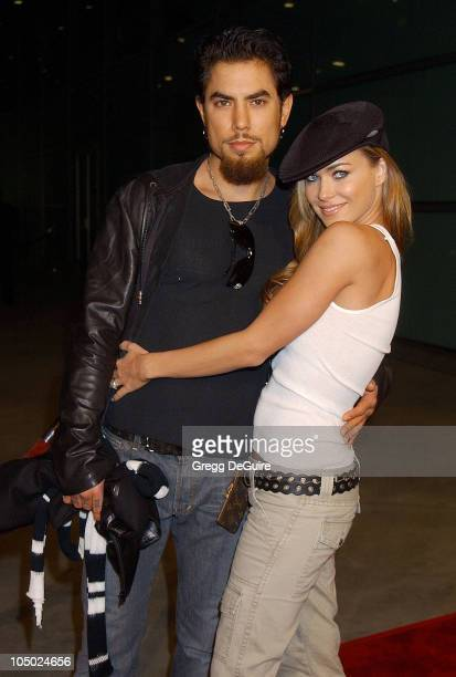 Dave Navarro and Carmen Electra during 'Femme Fatale' Los Angeles Premiere at Cinerama Dome in Hollywood California United States