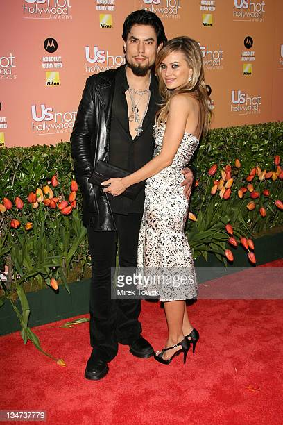 Dave Navarro and Carmen Electra during Us Weekly Hot Hollywood Awards at Republic Restaurant and Lounge in West Hollywood CA United States