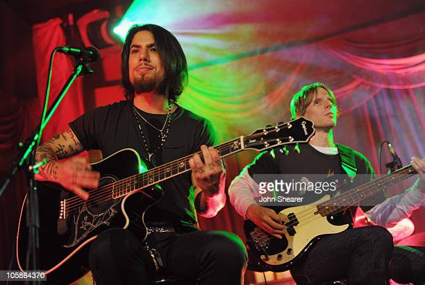 Dave Navarro and Chris Chaney perform with Camp Freddy at sbe's Grand Opening Of The Redbury Hotel on October 20 2010 in Hollywood California