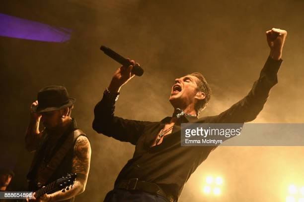 Dave Navarro and Perry Farrell of Jane's Addiction perform onstage during the 2017 Rhonda's Kiss Benefit Concert at Hollywood Palladium on December 8...