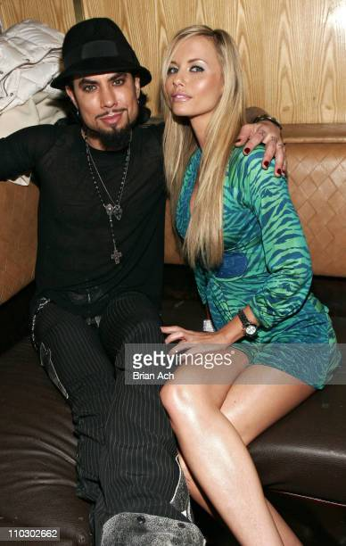 Dave Navarro and Tami Donaldson Ms Maxim during After Party for Dave Navarro Hosted by Yuval Eder and Alejandro Tom of GBH at Marquee in New York...