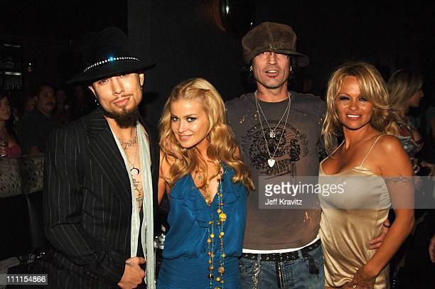 Dave Navarro, Carmen Electra, Tommy Lee and Pamela Anderson