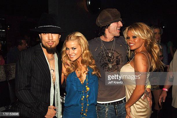 Dave Navarro Carmen Electra Tommy Lee and Pamela Anderson