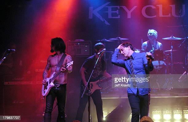 Dave Navarro Chris Chaney Billy Morrison and Matt Sorum of Camp Freddy