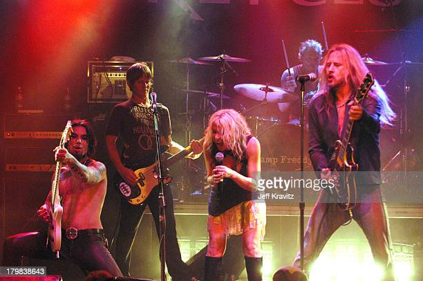 Dave Navarro Chris Chaney Terri Nunn Matt Sorum and Jerry Cantreall