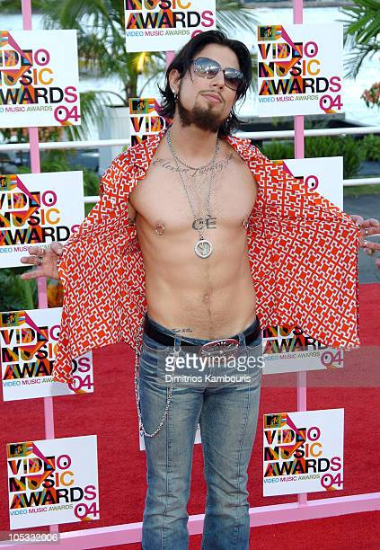 Dave Navarro during 2004 MTV Video Music Awards Arrivals at American Airlines Arena in Miami Florida United States