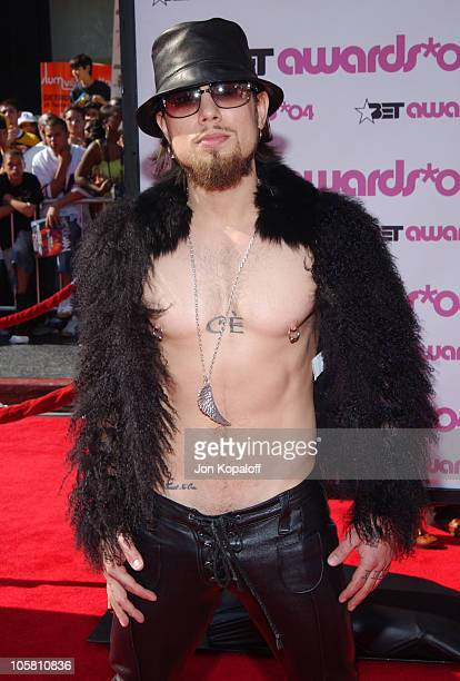 Dave Navarro during 4th Annual BET Awards Arrivals at Kodak Theatre in Hollywood California United States