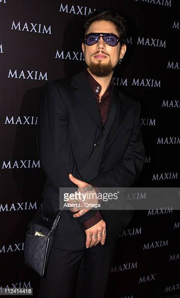 Dave Navarro during Live Performance by The Pussycat Dolls Hosted by Maxim Magazine Arrivals at The Henry Fonda Theater in Hollywood California...