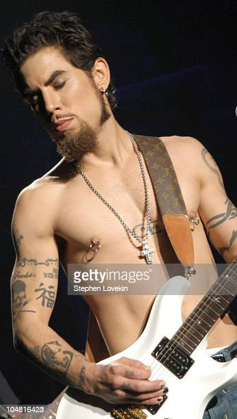 Dave Navarro during MTV Rock The Vote 10th Annual Patrick Lippert Awards at Roseland Ballroom in New York NY United States