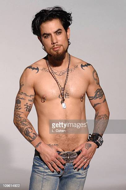 Dave Navarro *Exclusive Coverage* during Aldo BehindtheScenes Ad Shoot at Quixote Studios in West Hollywood California United States