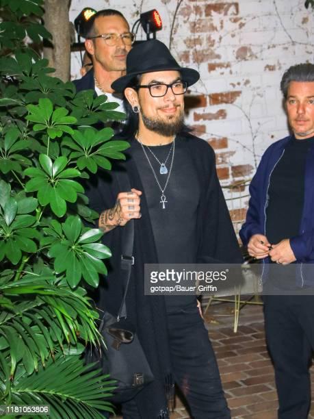 Dave Navarro is seen on November 08 2019 in Los Angeles California