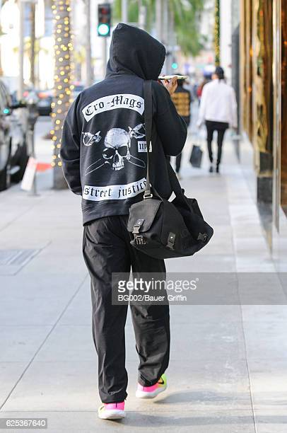 Dave Navarro is seen on November 23 2016 in Los Angeles California