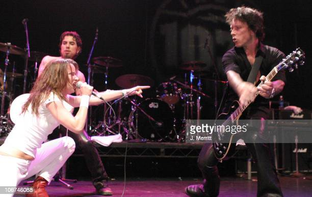 Dave Navarro Juliette Lewis and Billy Morrison during Camp Freddy in Concert with Suicide Girls Sponsored by Indie 1031 Arrivals and Show at Avalon...