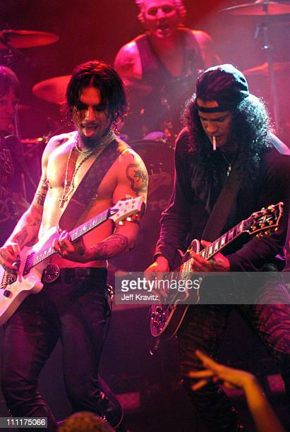 Dave Navarro of Camp Freddy with Slash of Velvet Revolver