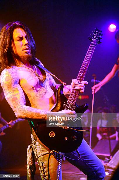 Dave Navarro performs at Camp Freddy Holiday Residency at The Roxy Theatre on December 22 2012 in West Hollywood California