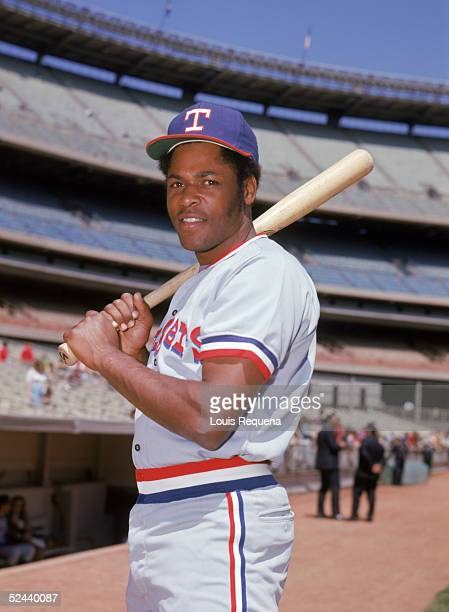 Dave Nelson of the Texas Rangers poses for a portrait circa 19721975