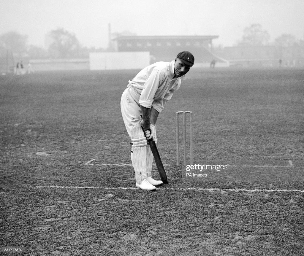 Cricket - International - South Africa - London - 1924 : News Photo