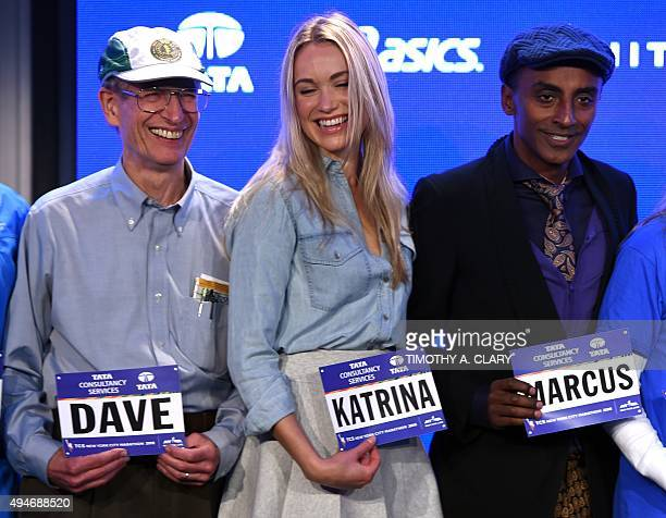 Dave Obelkevich the TCS New York City Marathons longest streaker who will be running his 40th consecutive TCS New York City Marathon Katrina Bowden...