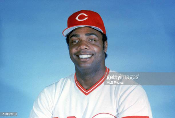 Dave Parker of the Cincinnati Reds poses for a portrait. Dave Parker played for the Cincinnati Reds from 1984-1987.