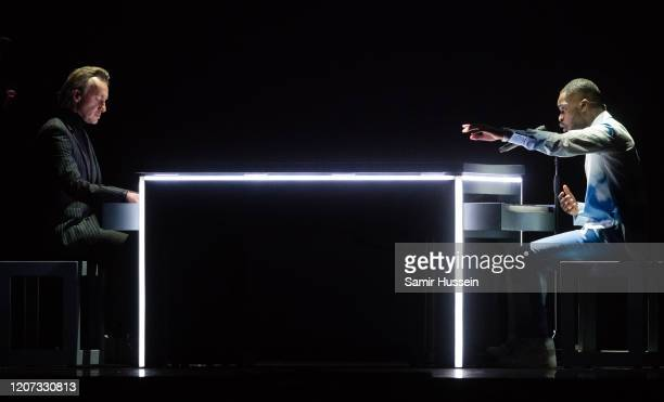 Dave performs during The BRIT Awards 2020 at The O2 Arena on February 18 2020 in London England