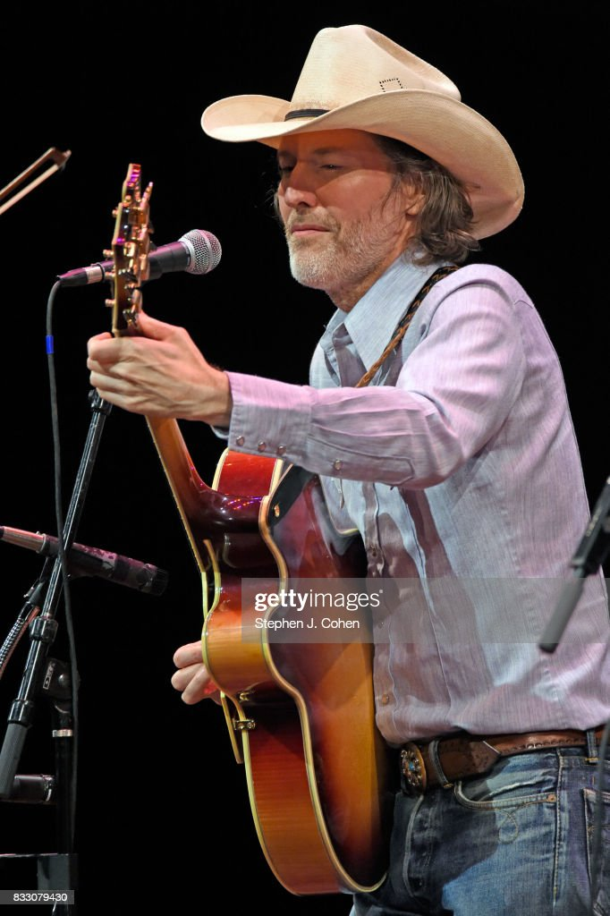 Dave Rawlings of Dave Rawlings Machine performs at Brown Theatre on August 16, 2017 in Louisville, Kentucky.