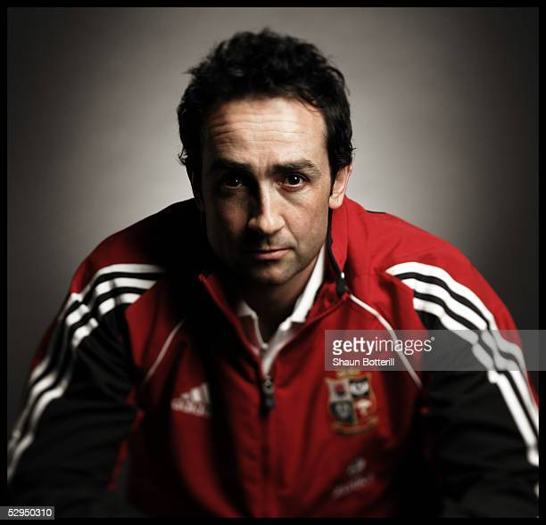 Dave Reddin pictured during the British and Irish Lions Squad Photocall for the 2005 Tour to New Zealand on April 18 2005 in Cardiff Wales