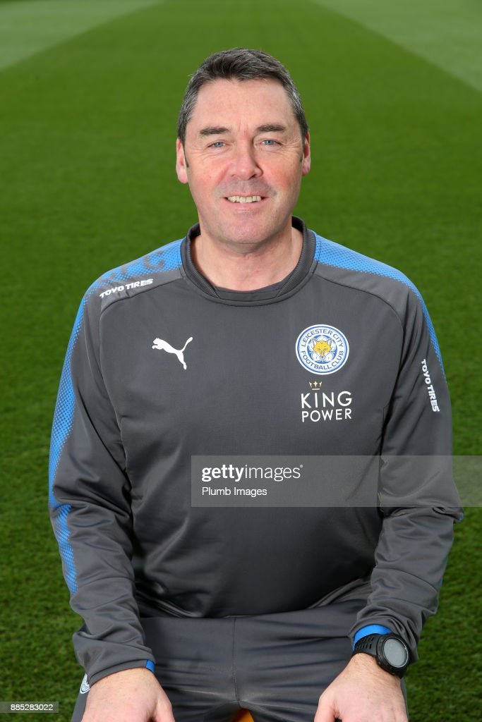Dave Rennie Ð Head Physiotherapist during the Leicester City Official Team Group on November 1 , 2017 in Leicester, United Kingdom.