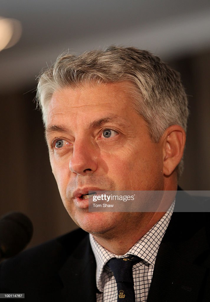 Dave Richardson a member of the ICC Cricket Committee speaks during a press conference at at Lords on May 21, 2010 in London, England.