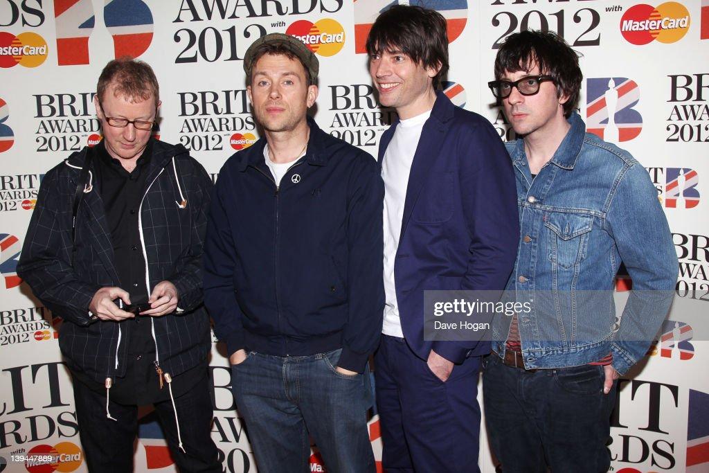 The BRIT Awards 2012 - Inside Arrivals