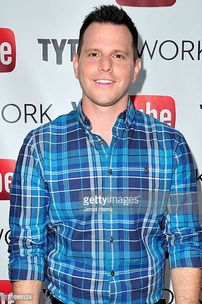 Dave Rubin arrives at YouTube and TYT Network Present the 1st Annual YouTube PRIDE Party Hosted By Dave Rubin at YouTube Space LA on June 27 2013 in...