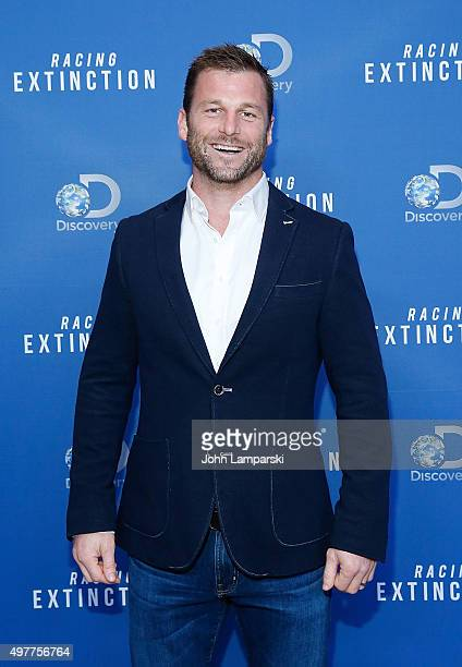 Dave Salmoni attends Racing Extinction New York premiere at TheTimesCenter on November 18 2015 in New York City